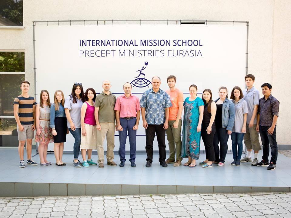 Antonina Nesterenco la Școala Internațională de Misiune Precept Ministries Eurasia 2017
