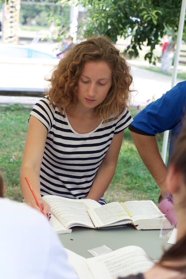 Grup de engleză, Marcela Tașca, contacte