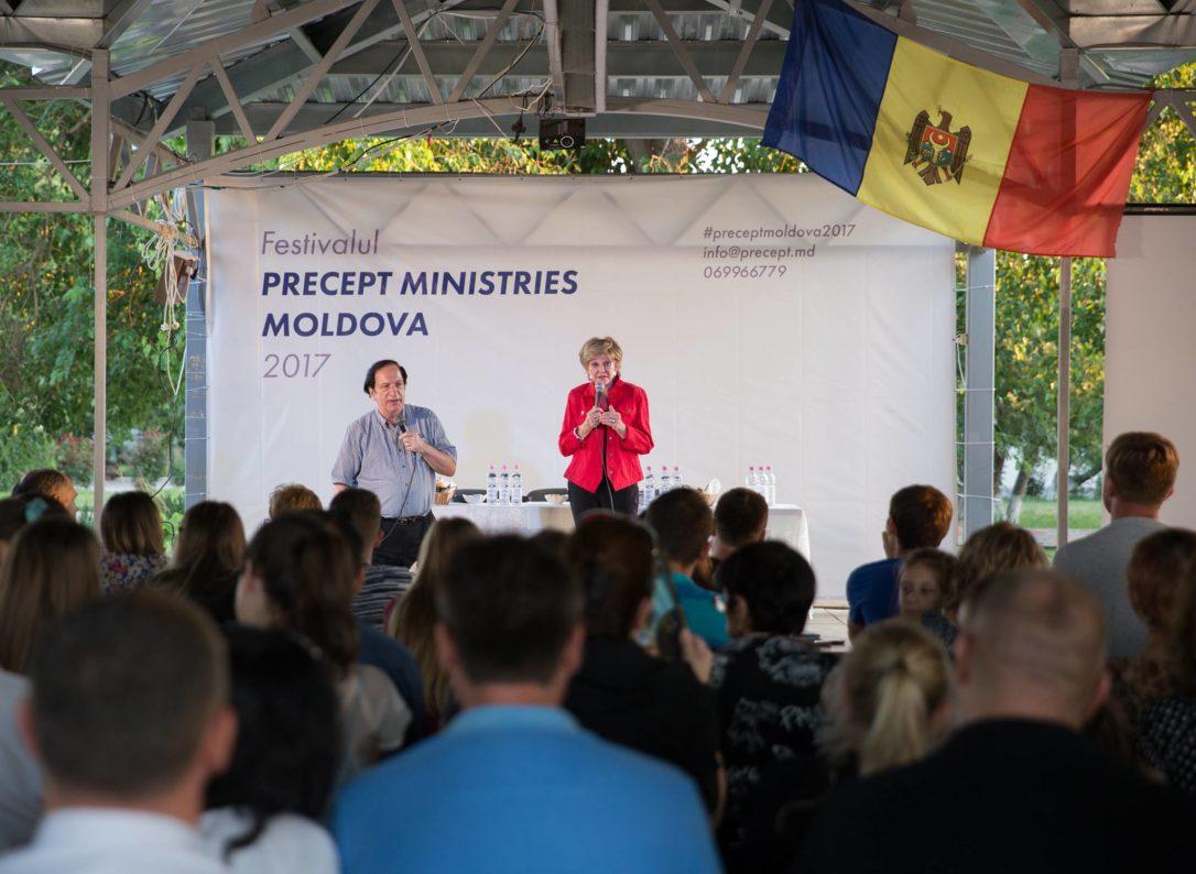 Kay Arthur în Moldova - Festival Precept Ministries 2017