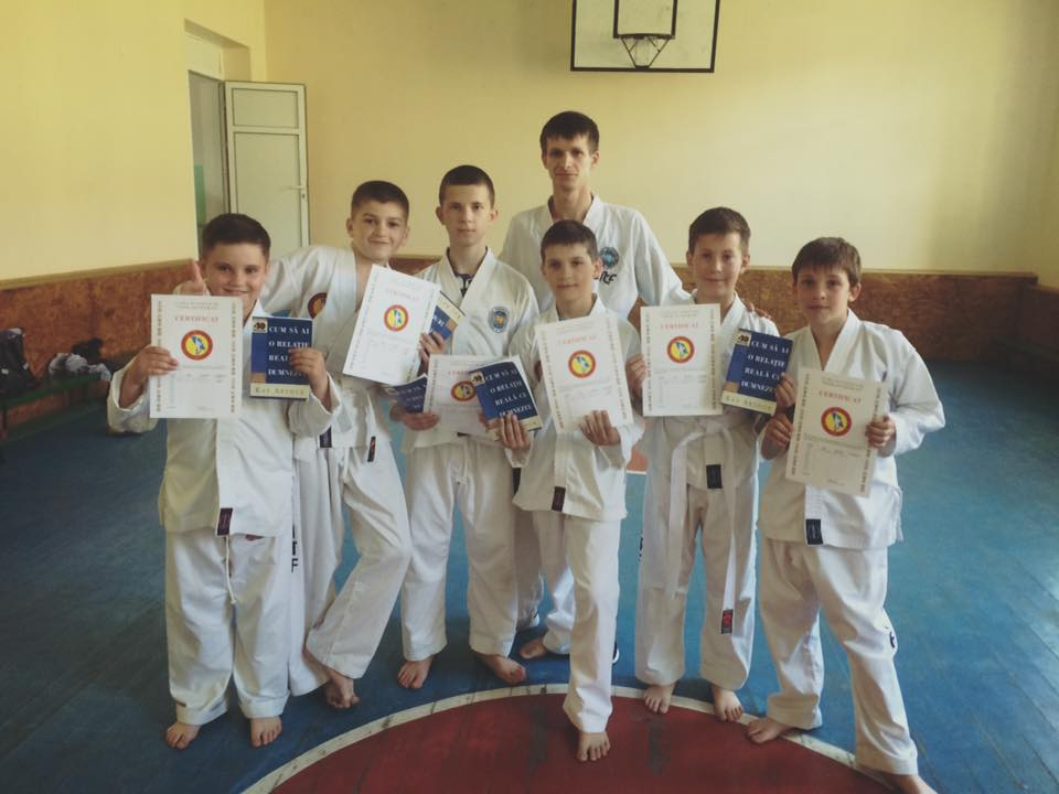 Oleg Țurcan, instructor de Taekwon-Do, Țîpala
