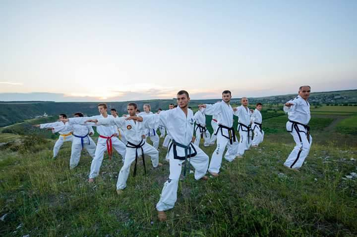 Vasile Panainte, antrenamente de Taekwon-Do Ialoveni
