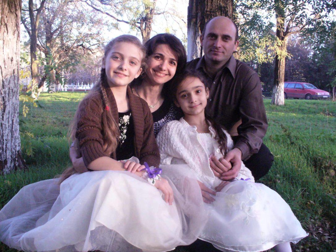 Familia misionarului Gheorghe Marian