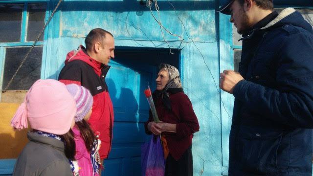 Ajutorarea bătrânilor, misionarii din Lăpușna