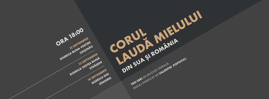 Corul Creștin de bărbați în Moldova - LAUDĂ MIELULUI 2017
