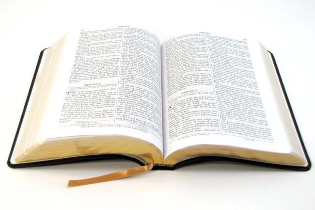 citirea Bibliei deschizând-o la întâmplare