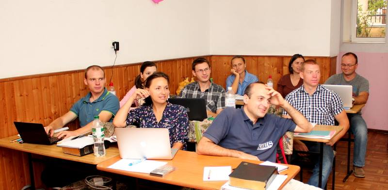 Stas Munteanu, student Institutul de Studiu Biblic Inductiv, nivelul I