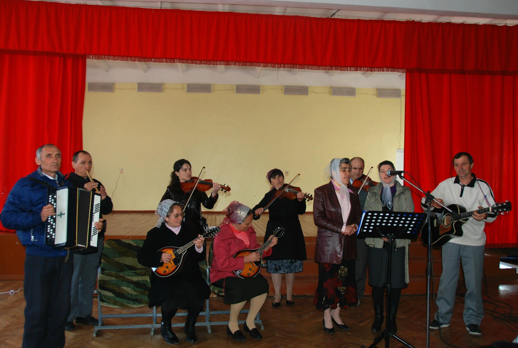 Instrumente muzicale în biserica