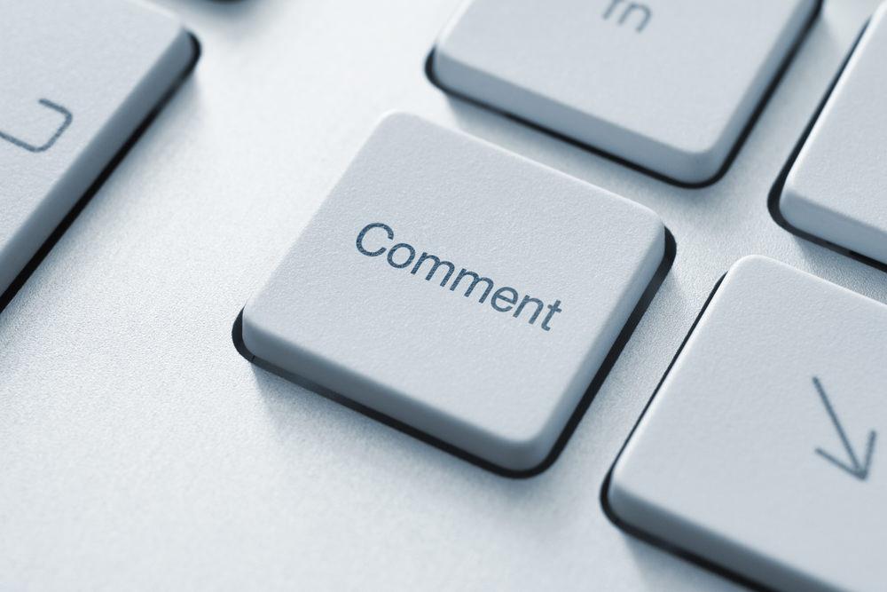 неприличные комментарии