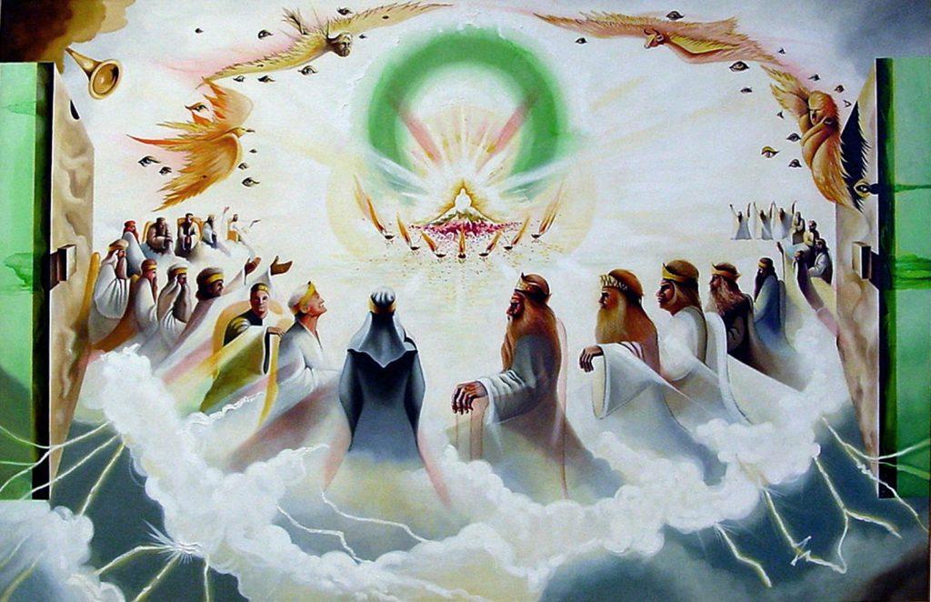Tronul Ceresc din Apocalipsa