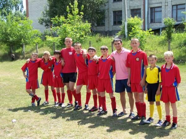 Лагерь по Футболу