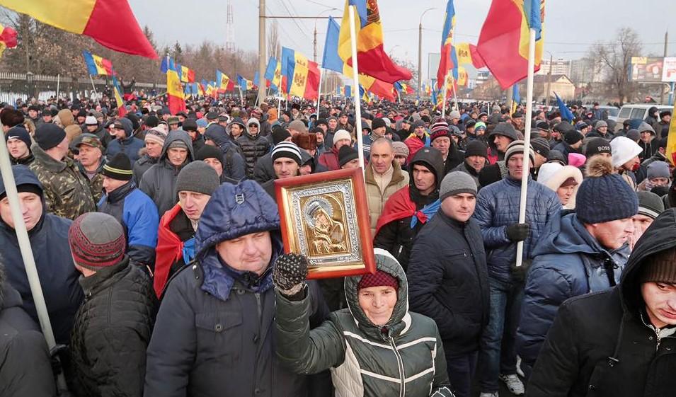 Mânia lui Dumnezeu S-a aprins împotriva Republicii Moldova