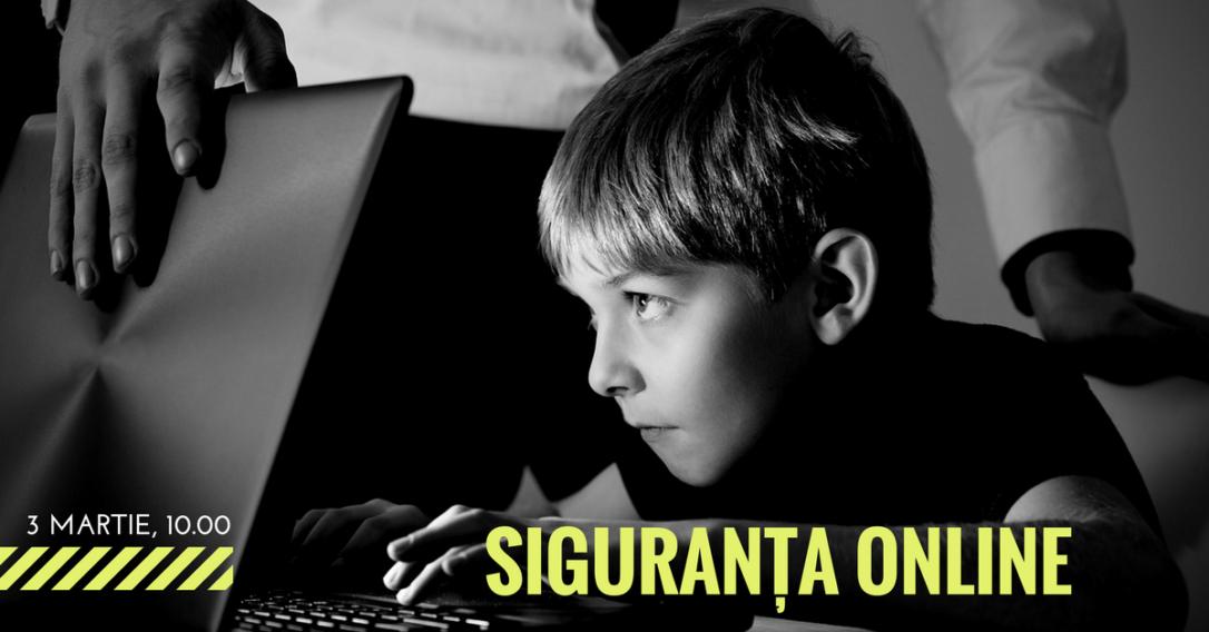 protejează copilul online