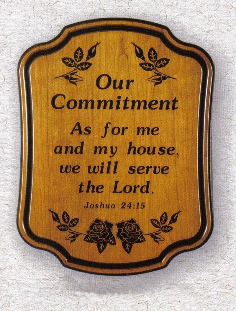 A fi creștin, înseamnă să faci un angajament!