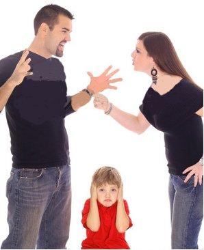 родители ругаются весь день