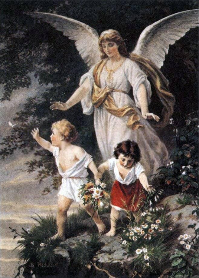 Правда ли, что у каждого ребенка есть Ангел?