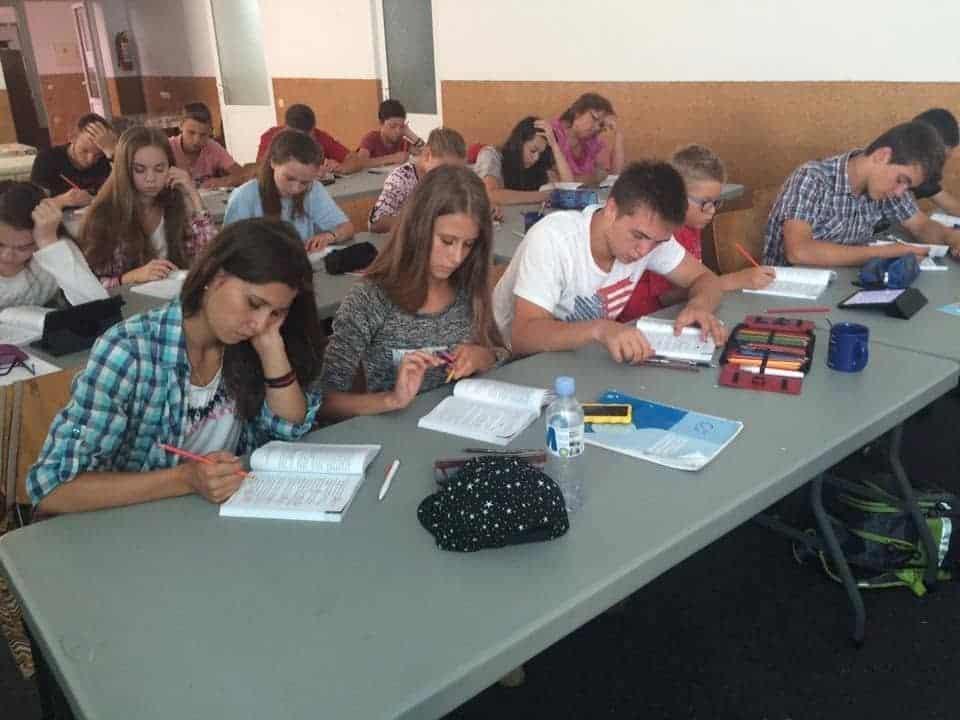 Copiii studiază